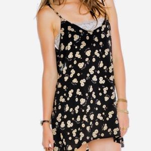 Brandy Melville Sunflower Tank Dress One Size